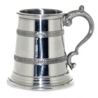 ¼ Pint Celtic Pewter Tankard